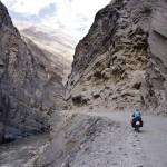 La poussiere du Canyon del Pato