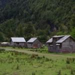 Village patagon le long de la route 7
