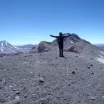 Au sommet à 5600m (Lascar)