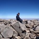 Seb en méditation à 5980m (Sairecabur)