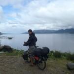 Seb devant le fjord