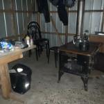 Le coin cuisine du camping